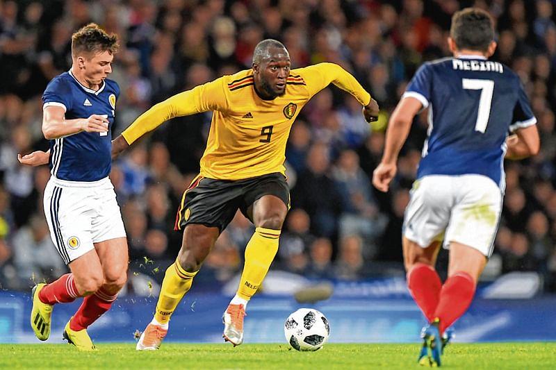 Lukaku, Hazard help Belgium beat Scotland