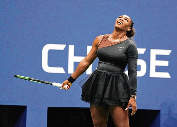 US Open: Serena Williams pays back Naomi Osaka