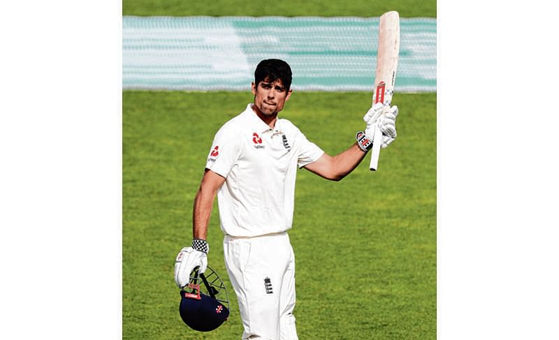 Cook makes swansong Test memorable with ton