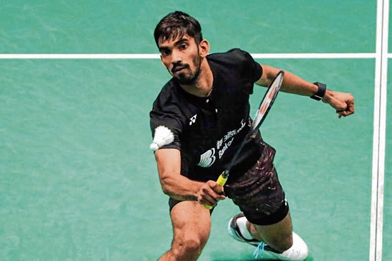 Srikanth out, India's campaign ends