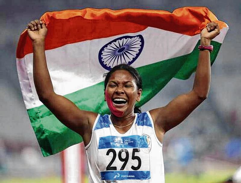 Asiad gold medallist Swapna to get customised Adidas shoes