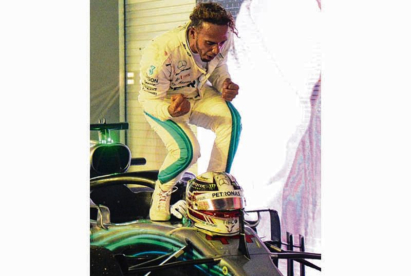 Hamilton zooms to fourth victory