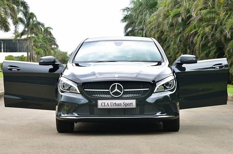 Mercedes-Benz CLA Urban Sport Launched At 35.99 Lakh