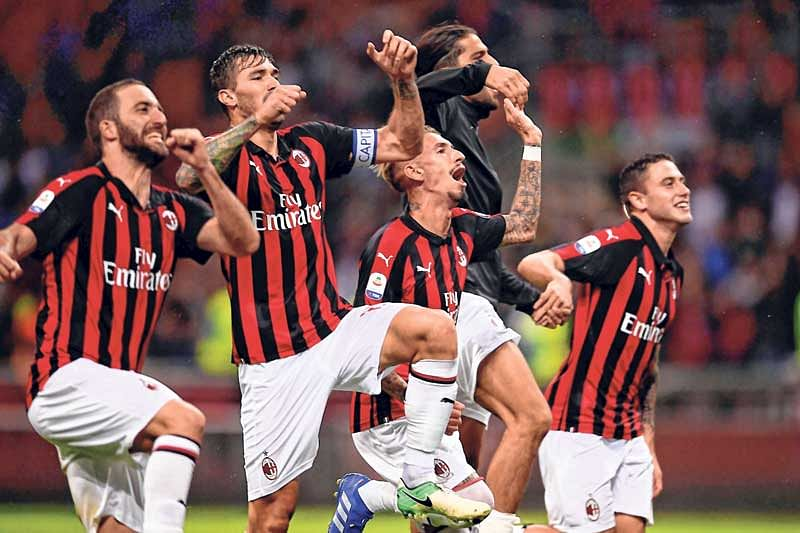 Patrick Cutrone goal seals Milan win over Roma