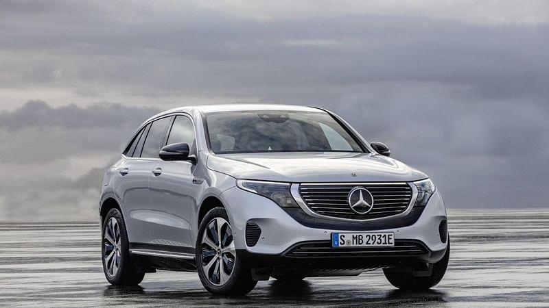 Mercedes-Benz EQC Unveiled; Rivals Tesla Model X, Audi e-tron