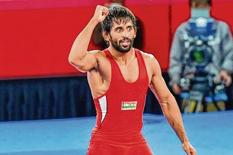Bajrang to spearhead India's challenge at World Wrestling Championship