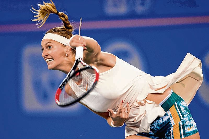 Kvitova overcomes Barty