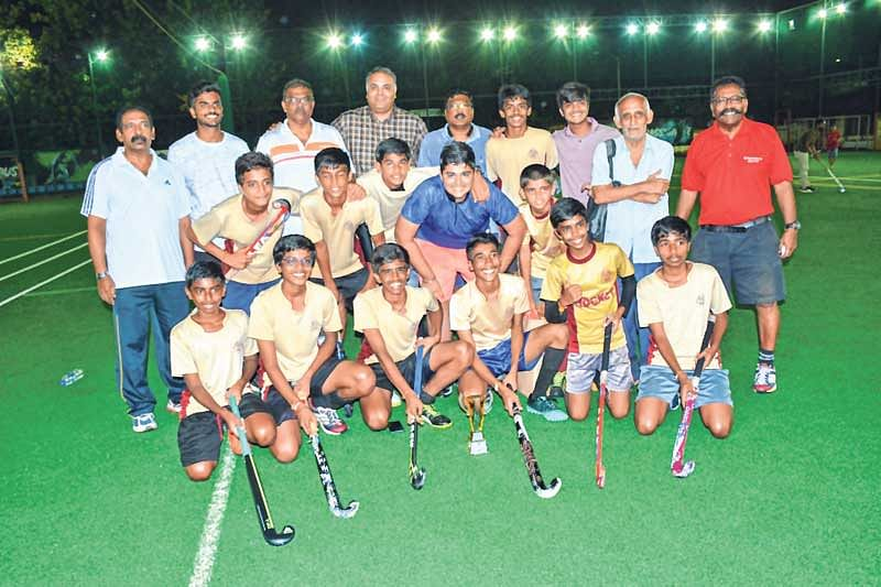 Children Academy of Malad emerged as  champions of Inter-Schools Champions League Hockey tournament