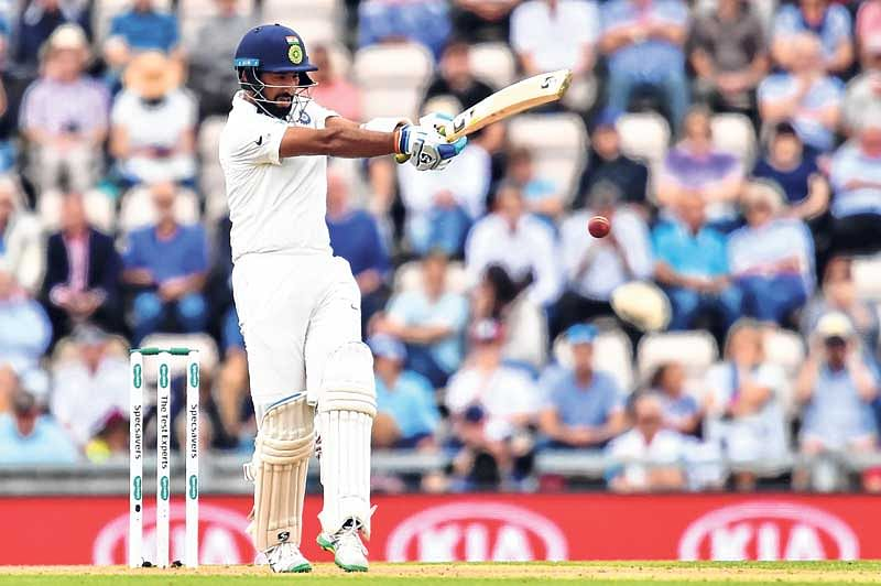 Pujara ton propels India : Puts England on the back foot as visitors take 27-run lead