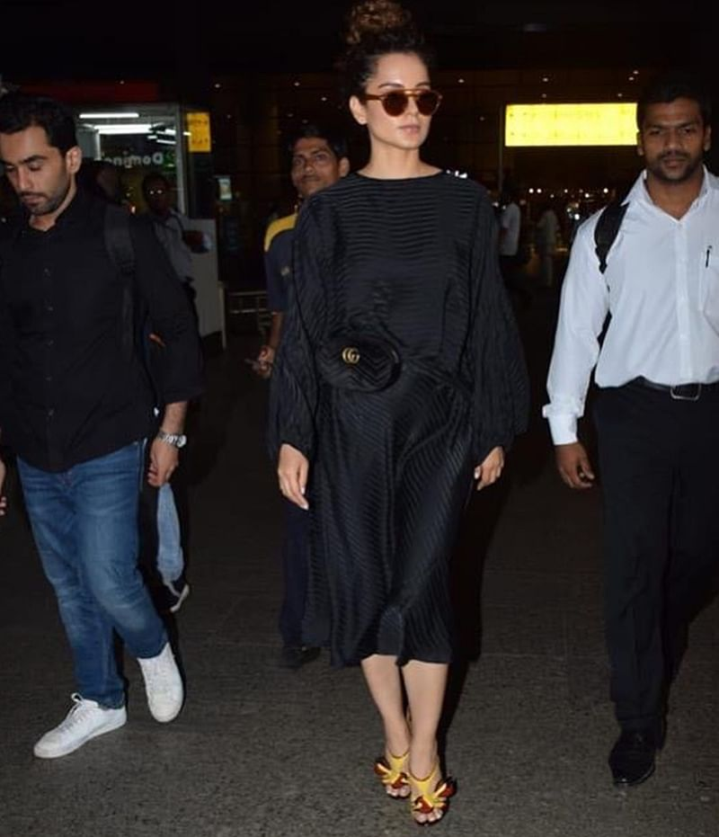 Kangana Ranaut's stunning footwear will burn a hole in your pocket; Check out