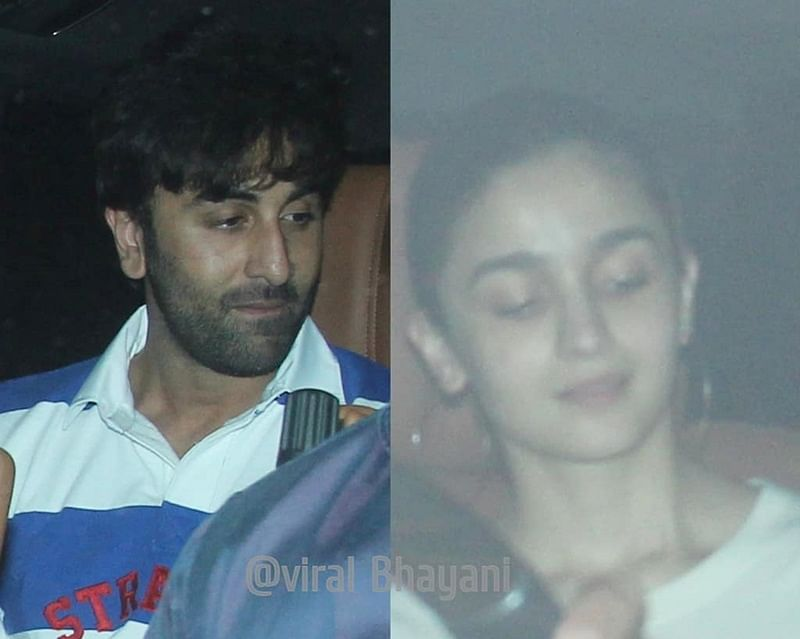 Ranbir Kapoor-Alia Bhatt team up to baby sit Karan Johar's twins Roohi and Yash? See pics
