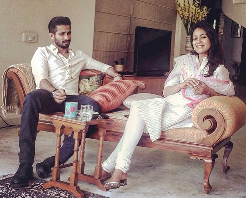 Shahid Kapoor shares cute throwback picture with Mira Rajput after son Zain's birth