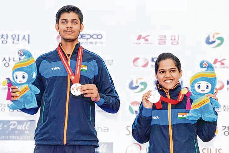 Junior shooters Panwar, Agarwal win bronze medal; seniors misfire