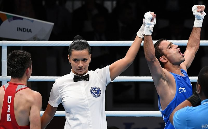 Asian Games 2018: Amit Panghal beats reigning Olympic champ to win boxing Gold