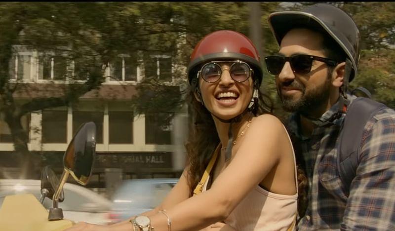 AndhaDhun's song Aap Se Milkar showcases blooming love story between Ayushmann and Radhika