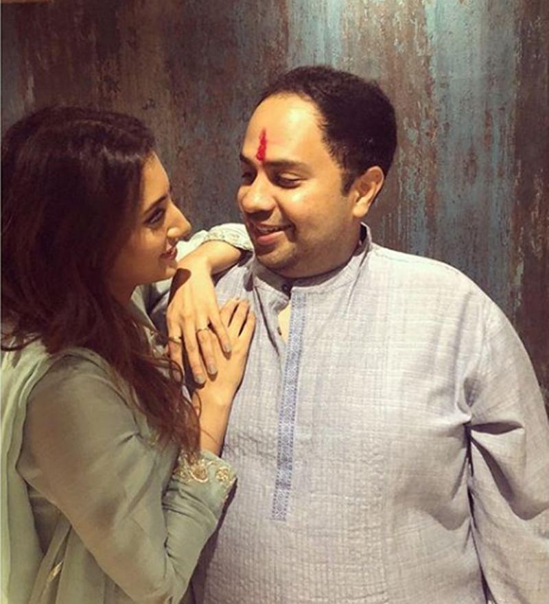 'Ishqbaaaz' actress Additi Gupta gets engaged to Kabir Chopra on Janmashtami; see pics