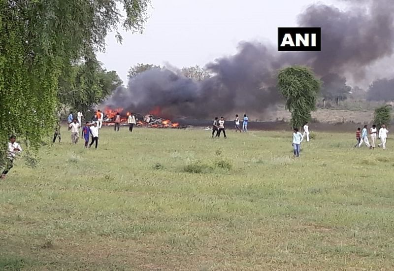 IAF MiG 27 aircraft crashes near Rajasthan's Jodhpur, pilot safe