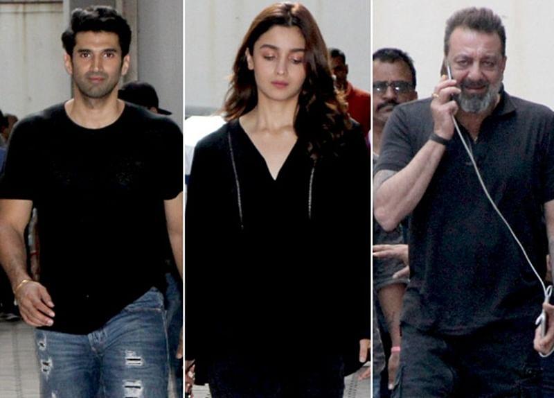SADAK 2: Alia Bhatt, Aditya Roy Kapur and Sanjay Dutt begin work on Mahesh Bhatt's Sadak sequel