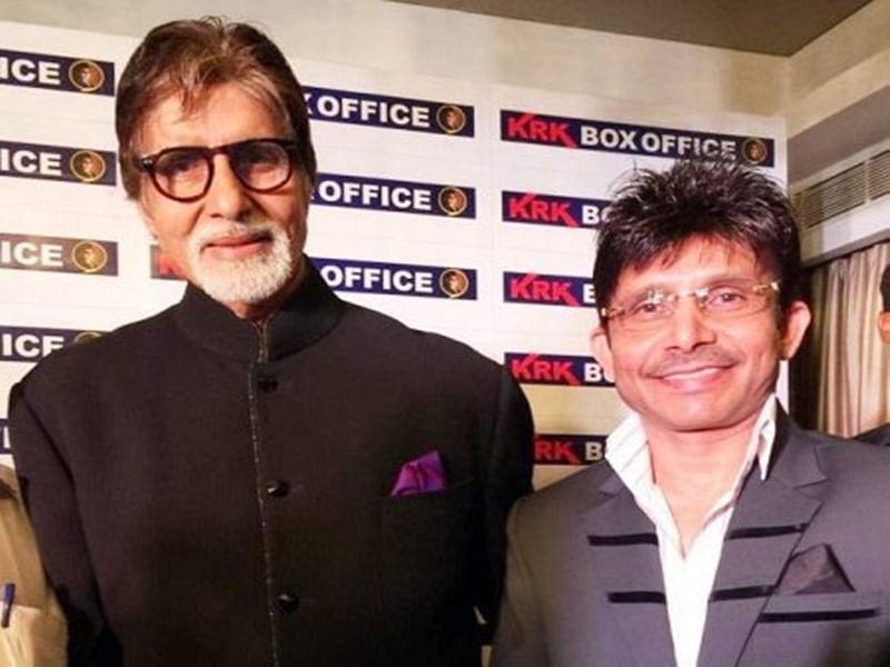 Kamaal Rashid Khan is back on Twitter! Amitabh Bachchan welcomes KRK in his own style