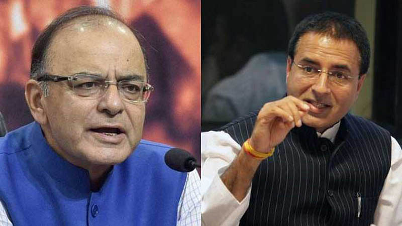 Clown prince is weaving falsehoods, says Jaitley