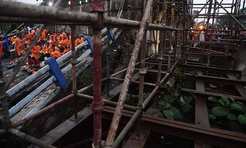 Kolkata: Another bridge collapses in West Bengal, 1 injured