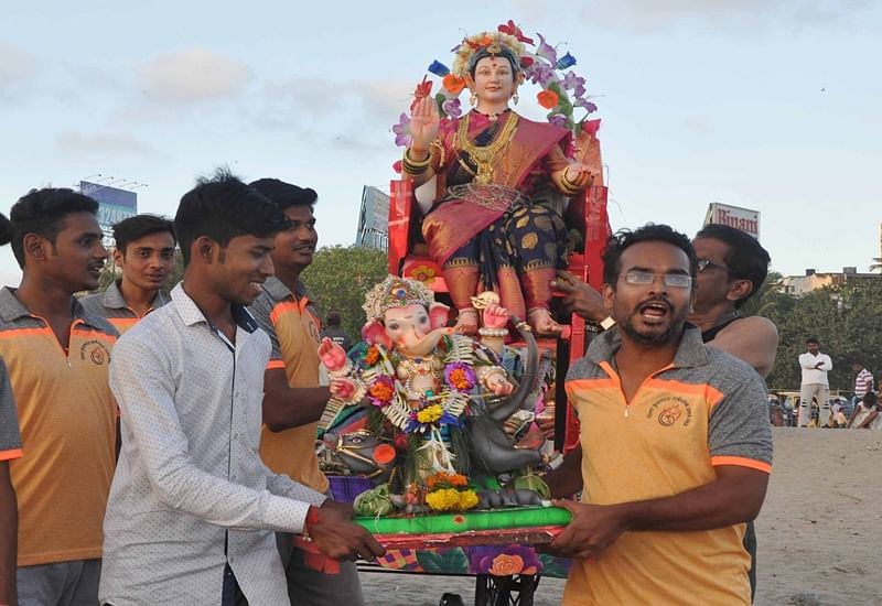 Ganesh Chaturthi 2018: Mumbai bids adieu to more than 45,000 Ganeshas idols