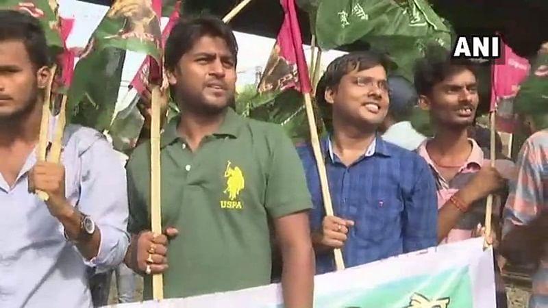 Bharat Bandh: Rail, road traffic hit in Bihar during shutdown