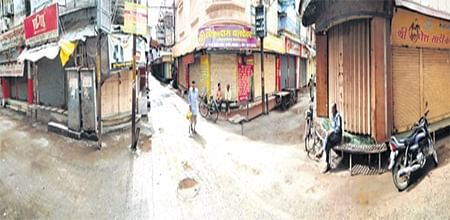 Indore: Bharat bandh remains peaceful in city