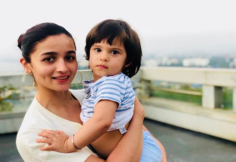 CUTENESS! Karan Johar shares adorable picture of his girls Alia Bhatt and daughter Roohi