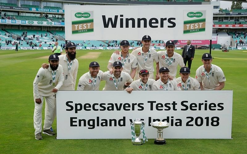 India vs England: England beat India by 118 runs in 5th Test to clinch series 4-1