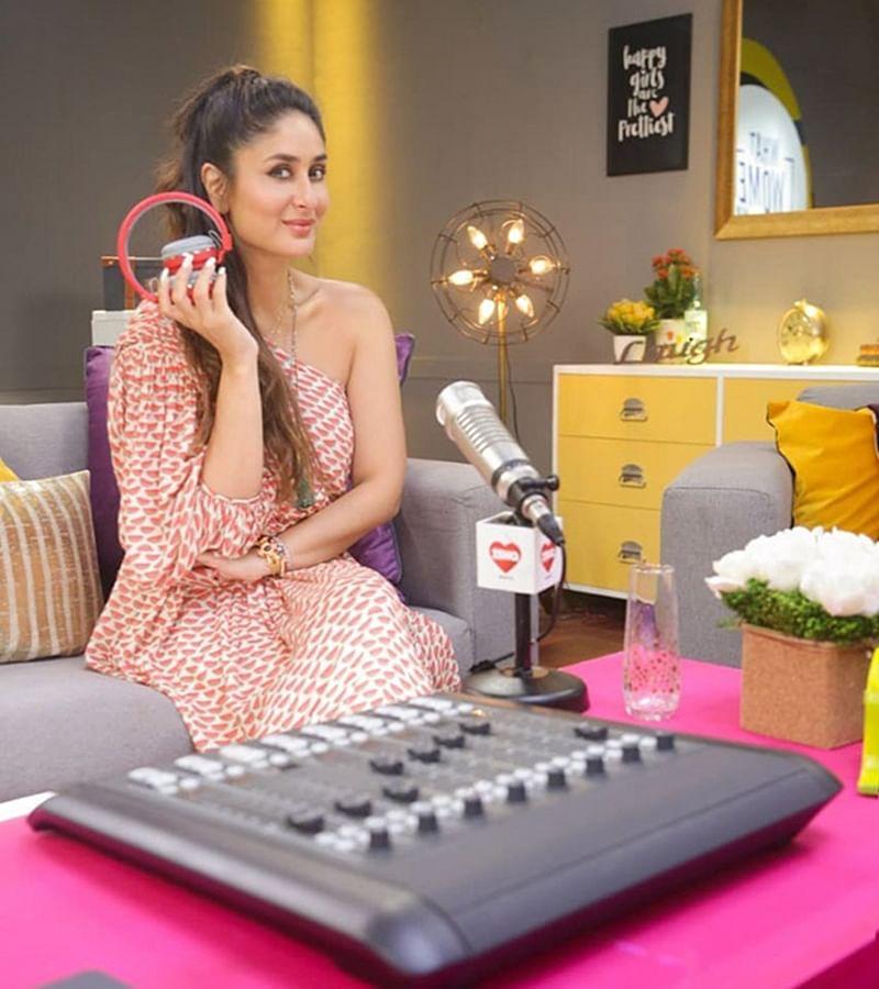 First Look: Kareena Kapoor Khan turns RADIO HOST, will Bebo rock it?