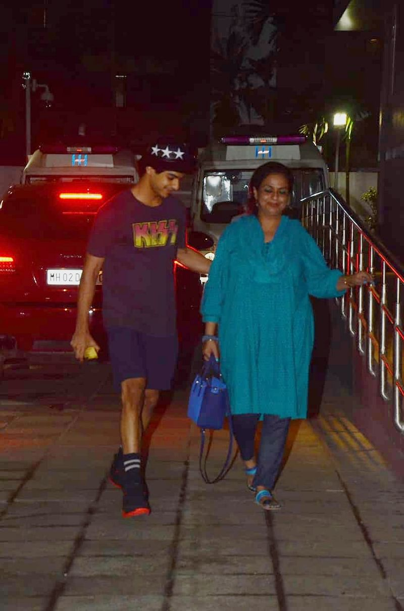 Shahid Kapoor becomes father of baby boy! Ishaan Khatter, Neelima Azim spotted at Hinduja Hospital to be with Mira Rajput; view pics