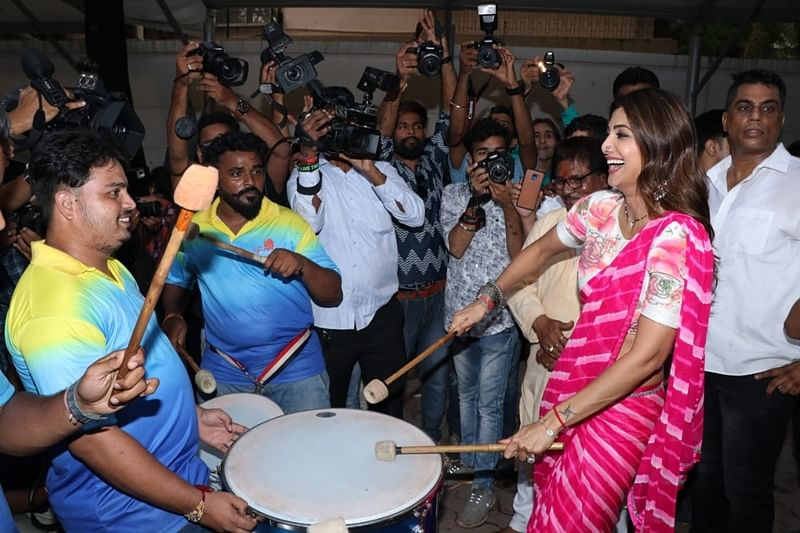Shilpa Shetty. Photo by Viral Bhayani