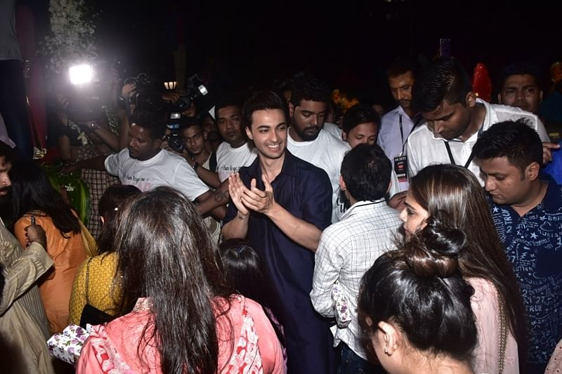 Aayush Sharma. Photo By Viral Bhayani