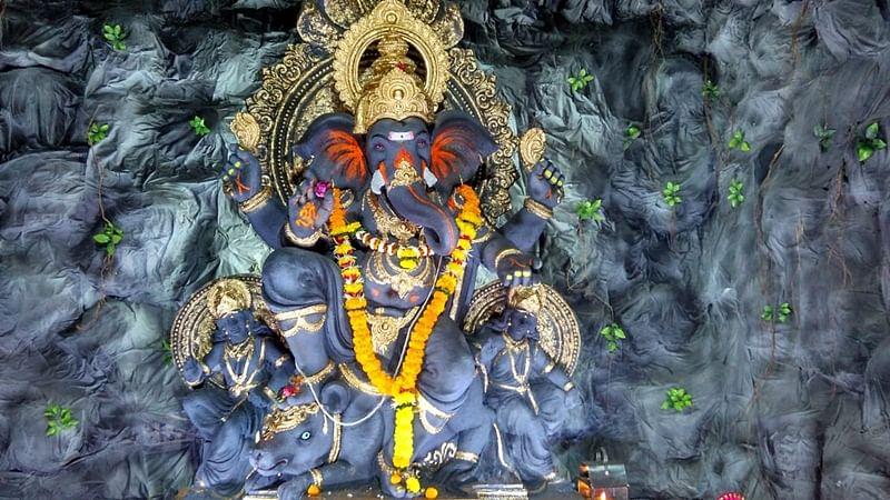 Ganesh Chaturthi 2018: See pics of Ganesh idol of Khetwadi galli, Mumbadevicha Ganraj