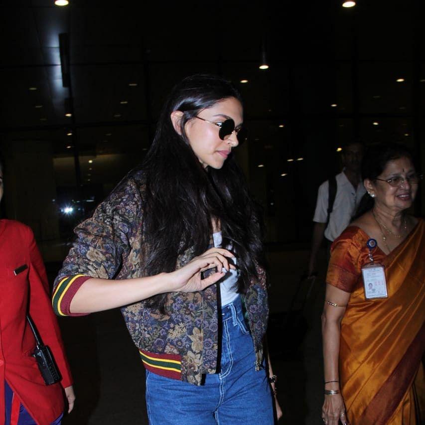 Deepika Padukone cuts short Goa shoot; takes chartered flight to Mumbai