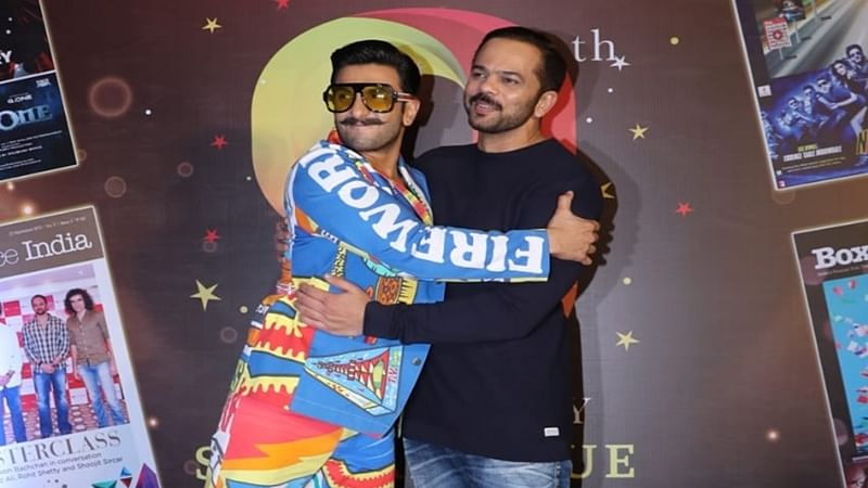 "Ranveer Singh, who worked with director Rohit Shetty in ""Simmba"", says he always wanted to be his hero"
