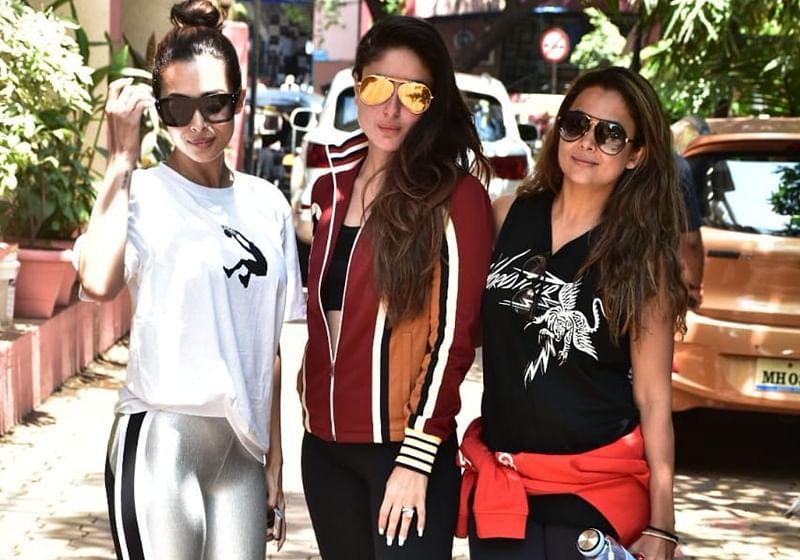 See Pics: Kareena Kapoor Khan with BFFs Malaika and Amrita Arora snapped outside gym in Mumbai
