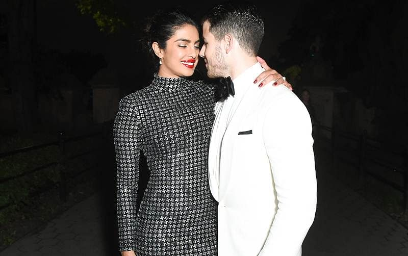 'Prick' pictures! Newly-engaged couple Nick Jonas and Priyanka Chopra's PDA proves their love is eternal