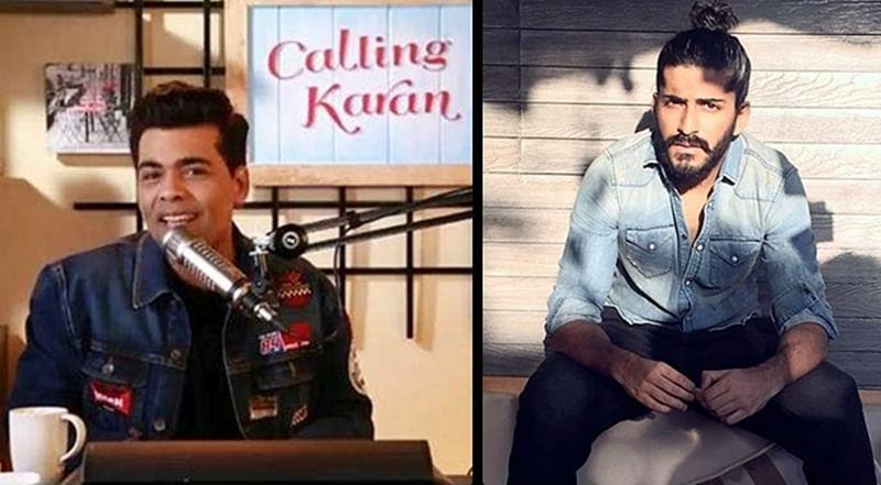 Calling Karan: Harshvardhan Kapoor gets a hilarious relationship advice from KJo
