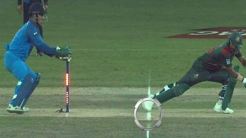Asia Cup 2018 Final: Fans angry over controversial stumping by MS Dhoni, call ICC as Indian Cricket Council