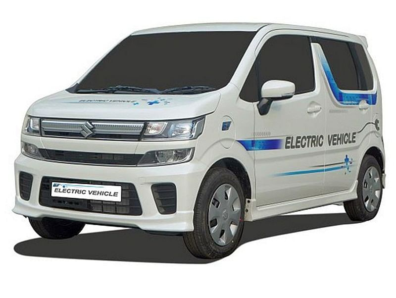 Maruti Suzuki Showcases New WagonR-Based Electric Vehicle Prototype: Launch In 2020