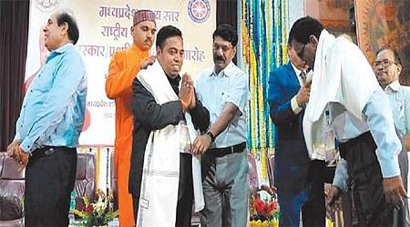Ujjain: NSS 50th foundation day celebtration