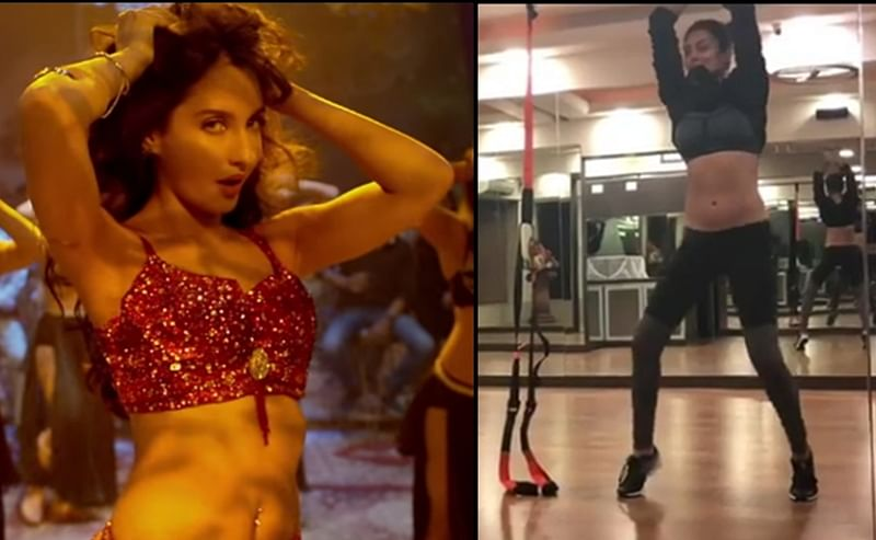 Watch: Sushmita Sen grooves on Nora Fatehi's 'Dilbar' song and nails it with ease