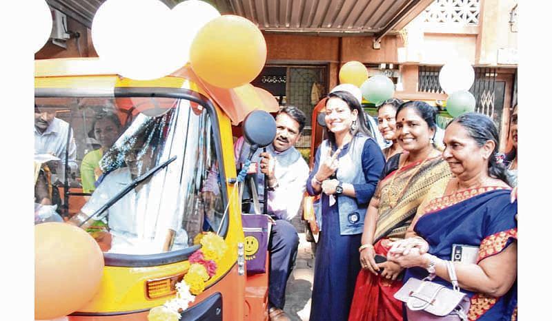 Mumbai: Break the monotony with pink autos