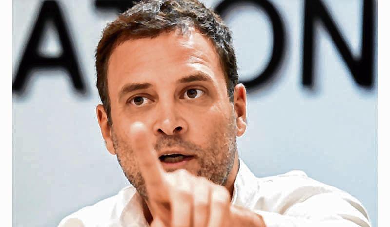 Congress president Rahul Gandhi attacks PM Narendra Modi on health insurance scheme