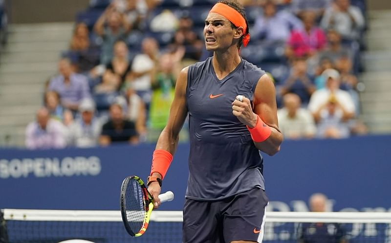 US Open 2018: Nadal survives in epic marathon against Thiem to make seventh semi-final