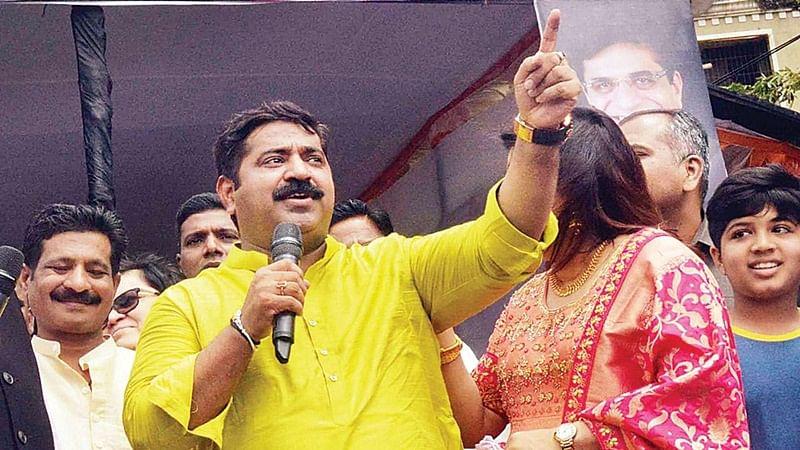 'Ravan' Ram Kadam is let off