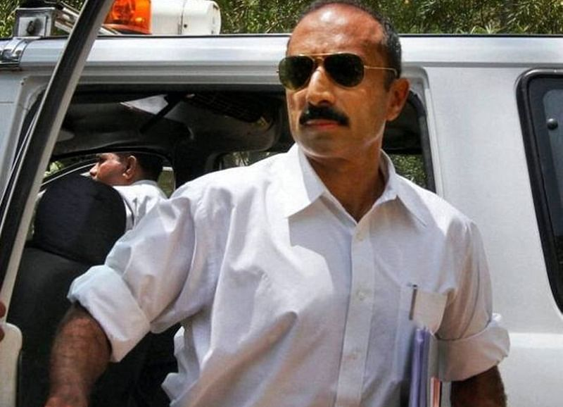 Former IPS officer Sanjiv Bhatt detained in 22-year-old case