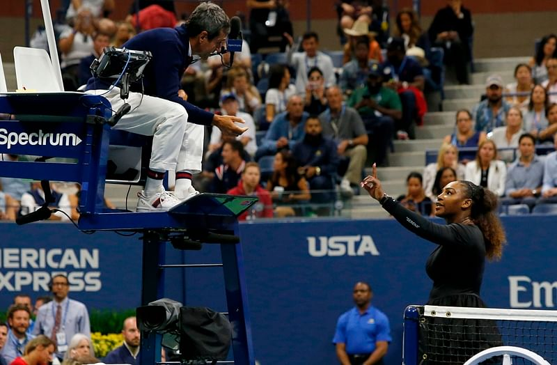 US Open 2018: Serena Williams fined $17000 for violating code of conduct during final against Osaka